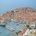 Dubrovnik, vista de la ciudad donde NO está el hotel pero no hace falta