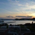 Vista hacia el puerto de Split