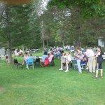 The Villa Vosilla picnic to celebrate Tannersville's 200th Anniversary.