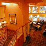 Our elegant dining area
