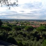 Vista di Pisa dalla collina di San Giuliano Terme la Rondien