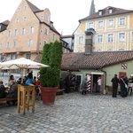the Old Wurstkuchl tavern