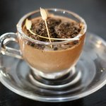 espresso and choclate mousse cooking with Bea and Daniel