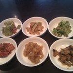 6 assiettes d'accompagnement