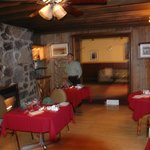 Dining at Classy Country Bourget Inn & Spa
