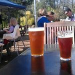 Fantastic beers, beer garden, sunshine, music.