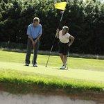 Enoy Golfing close at Bourget Inn & Spa