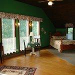 Rooms at Bourget Inn & Spa