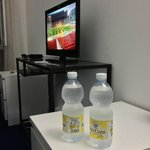 Room 5 - TV and Complimentary cold water (particularly during hot weather)