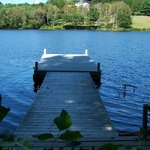 Our Dock on Kennebec