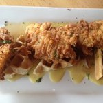 Delicious suggestion Texas Walker Ranger!  The 501's Chicken and waffles are Delicious!!  Excell