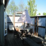 Cottage back deck