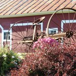 Farm implements as part of Beautiful landscape