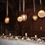 Head Table in the Barn