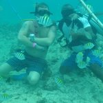Great snuba experience thanks Wilkins and the Bavaro Splash crew!