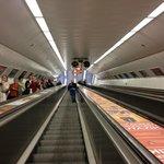 Underground Metro nearby