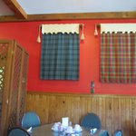Tartans on the wall
