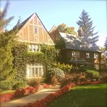 The Main Home, built in 1927 Tudor revival.