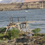 Indian fishing platforms