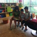 아동 도서가 있는 공간