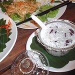Dessert (Red bean + coconut milk)