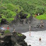 Black Sand Beach, Wai'anapanapa State Park