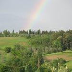 Tuscan rainbow vista