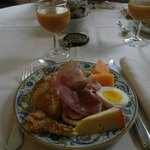 Wonderful breakfast buffet