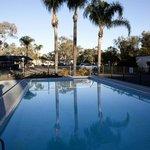 Outside Chlorine Pool