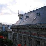 View of the rooftop of la Mairie du 13ieme Arrondissement