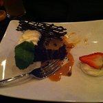 Chocolate quinoa cake!