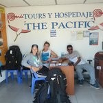 tour office in the hostel