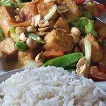 Coconut curry vegetable