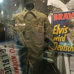 Elvis Presley's US Army uniform & other artifacts from his stint in Germany