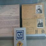 ID Cards from persons displaced by WWII