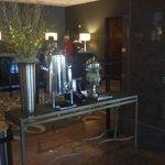 Hotel Lobby Water Service