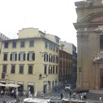 room 111-- view of Piazza San Firenze