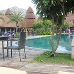 Pool Side area !!