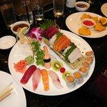 my Sushi and Sashimi plate