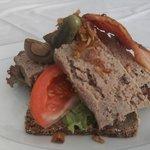 liverpatè sandwich