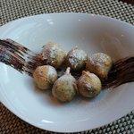 POSTRE: Buñuelos de viento rellenos de chocolate. Postre para compartir entre más de una persona