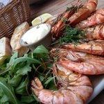 Grilled prawns YUMMMM!!