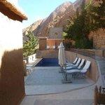 Terrassenlandschaft und Pool