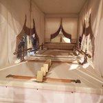 inside of hearse