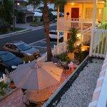 Silver Sands Mai-Juni 2012 / Aussicht von Zimmer 8 (Balkon)