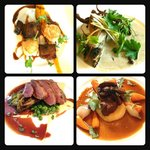 A few starters and mains from a mid summer menu