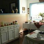 Salão do café e chá da tarde