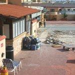 Roof top terrace/snack bar!