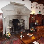 Fireplace in the Grand Hall