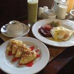 Nyuh Bali special breakfast